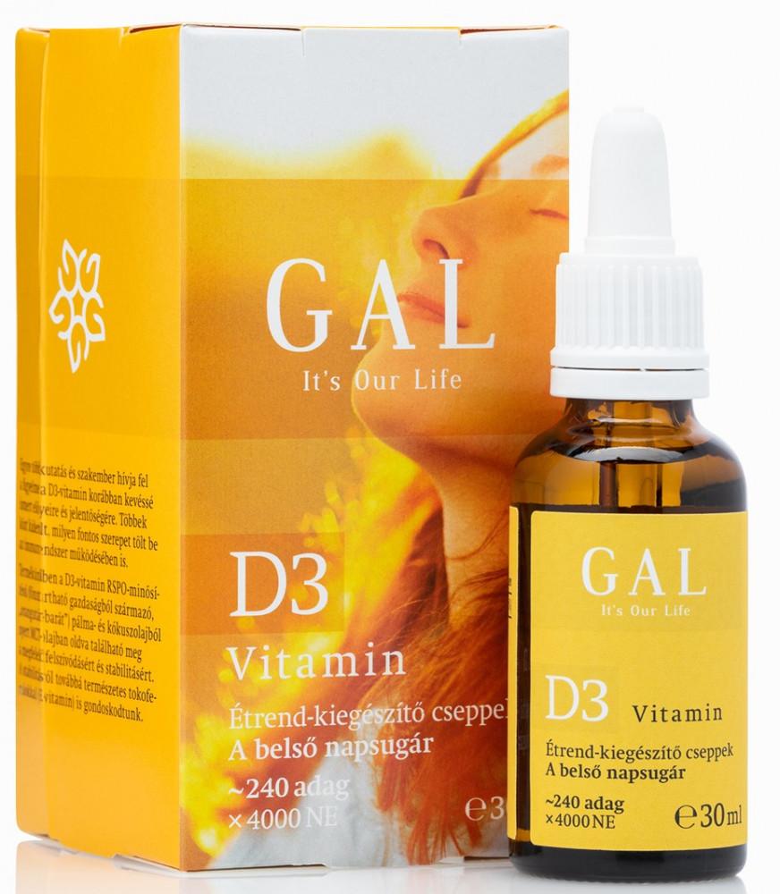 D3 vitamin 30 ml GAL