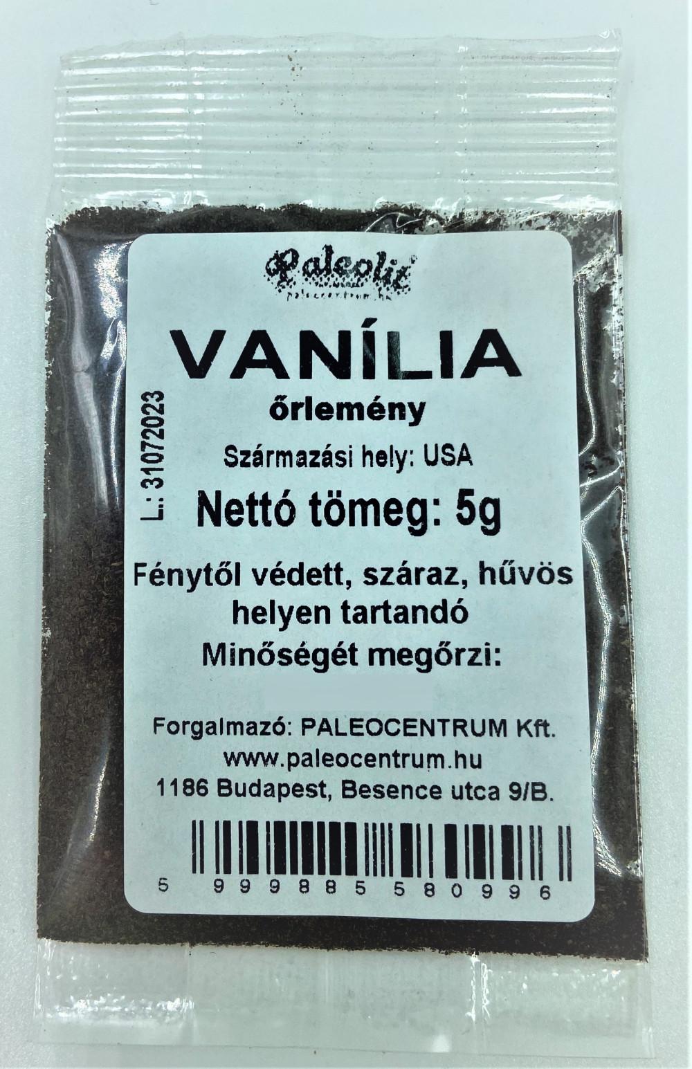Vanília őrlemény, Madagaszkári Bourbon 5g