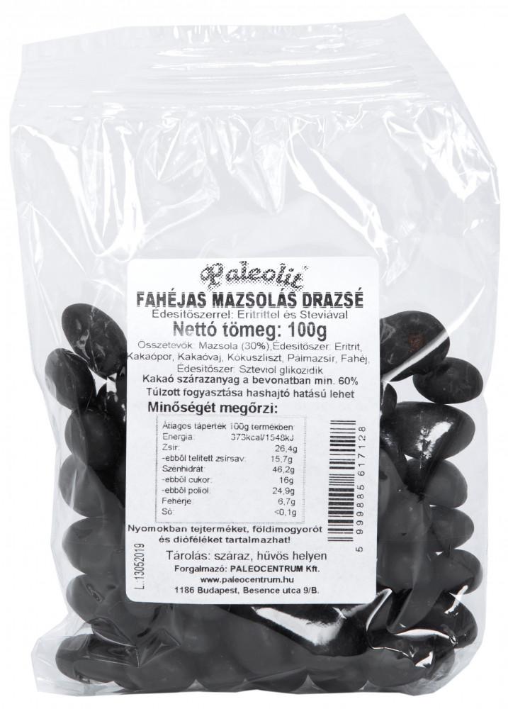 Fahéjas mazsola drazsé 100g Paleolit