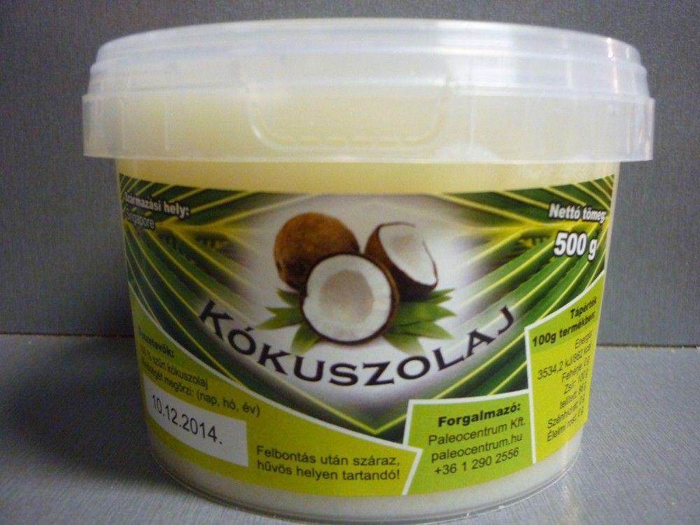 Kókuszolaj (kókuszzsír) 500g (kb 535ml)