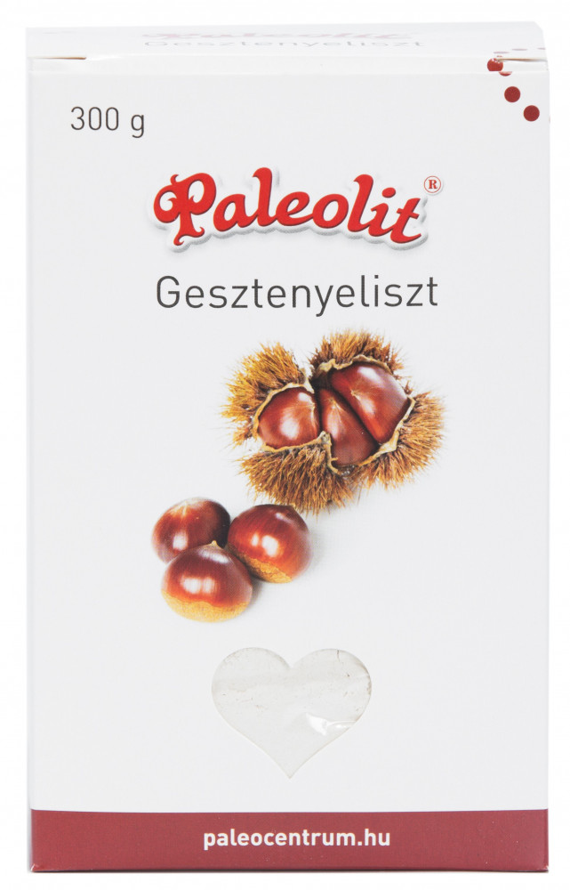 Gesztenyeliszt 300g dobozos Paleolit