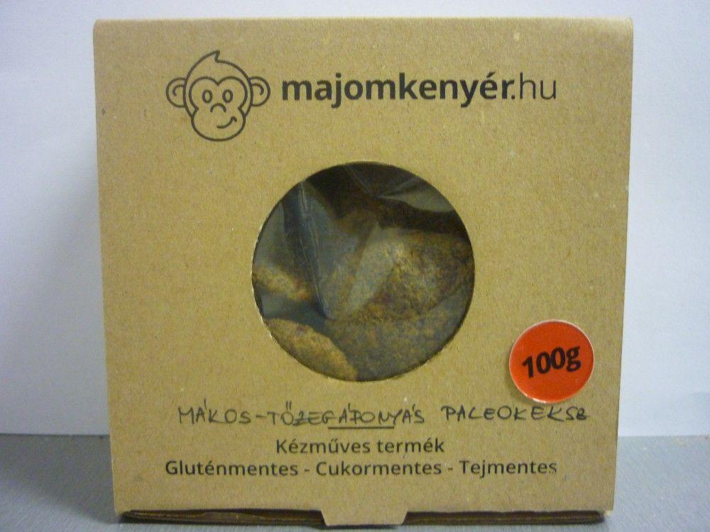 Mákos-tőzegáfonyás paleokeksz 100g