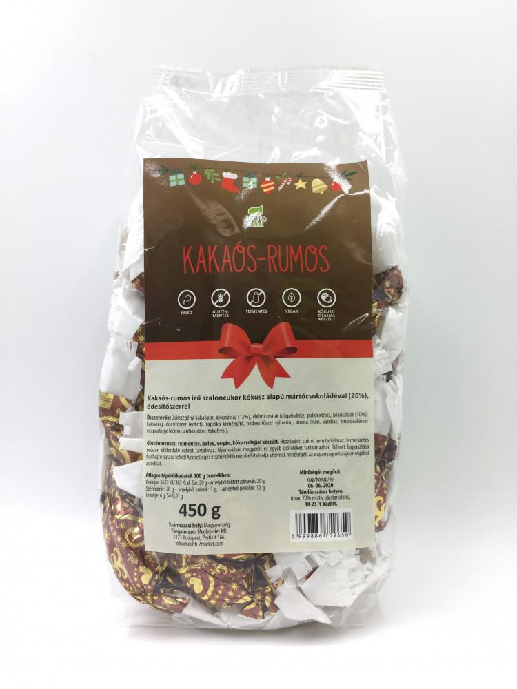 Kakaós-rumos szaloncukor 450g EgészségMarket