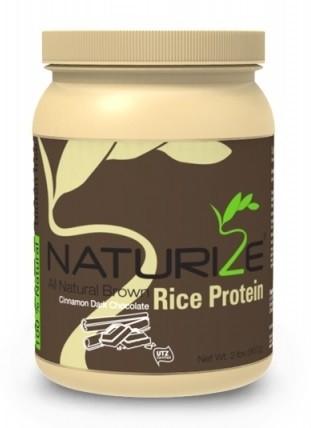 Naturize barna rizs fehérje fahéjas fekete csokival 907g