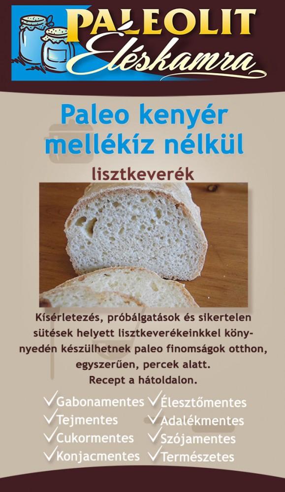 Paleo kenyér mellékíz nélkül 155g Éléskamra