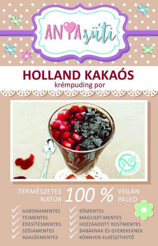 Holland kakaós krémpuding por 45g Anyasüti