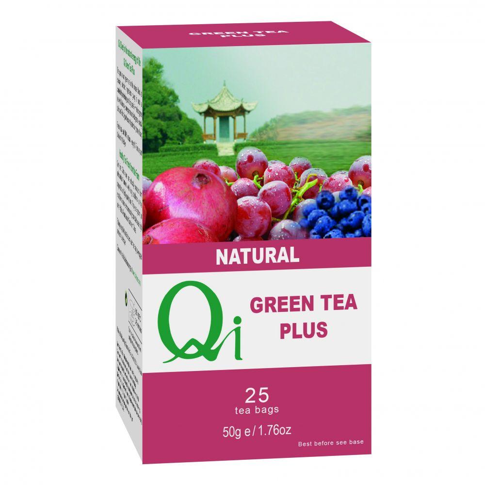 Zöld tea Plusz BIO 25x1,76g Qi