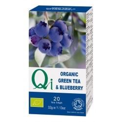 Zöld tea áfonyával BIO 20x1,13g Qi