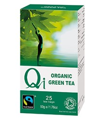 Zöld tea BIO 25x2g Qi