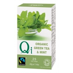 Zöld tea mentával BIO 25x1,4g Qi
