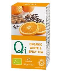 Fehér tea fűszerekkel BIO 25x1,6g Qi