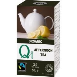 Fekete tea Afternoon BIO 25x1,76g Qi