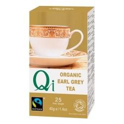 Fekete tea Earl Grey BIO 25x1,4g Qi