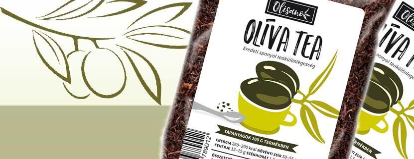 Olíva tea 50g Olisano