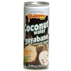 Kókuszvíz + szúrszop 250ml Philippine