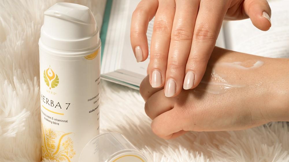 Herba7 hidratáló krém 150ml UKKO E-vitaminnal, érzékeny bőrre