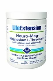 Neuro-Mag L-Threonate por 225g Life Extension