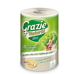 Öko háztartási papírtörlő Ultra Maxi Grazie Natural
