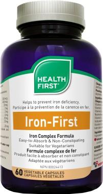Iron First 34mg vas (60) kapszula HF