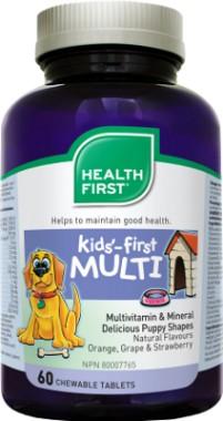 Gyerek multivitamin rágótabletta (60) HF