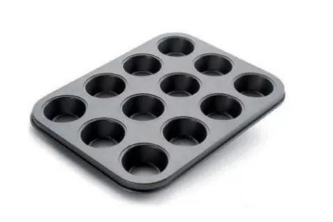 Muffin sütőforma 12db-os Ibili 820501 tapadásmentes