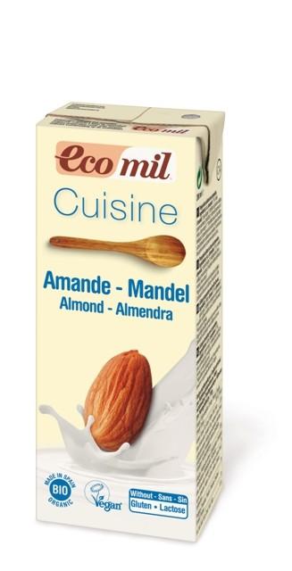 Mandulás tejszín BIO 200ml Ecomil